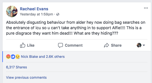 Hospital With Shady Past Forcibly Removes Alfie Evans From Ventilator – But He's Still Breathing… 12