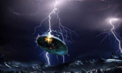 Ufo Struck By Lightning In Austria Filmed By A Group Of People 104