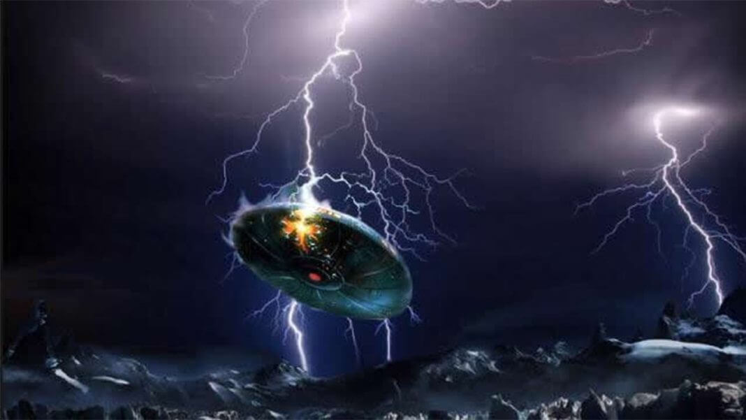 Ufo Struck By Lightning In Austria Filmed By A Group Of People 19