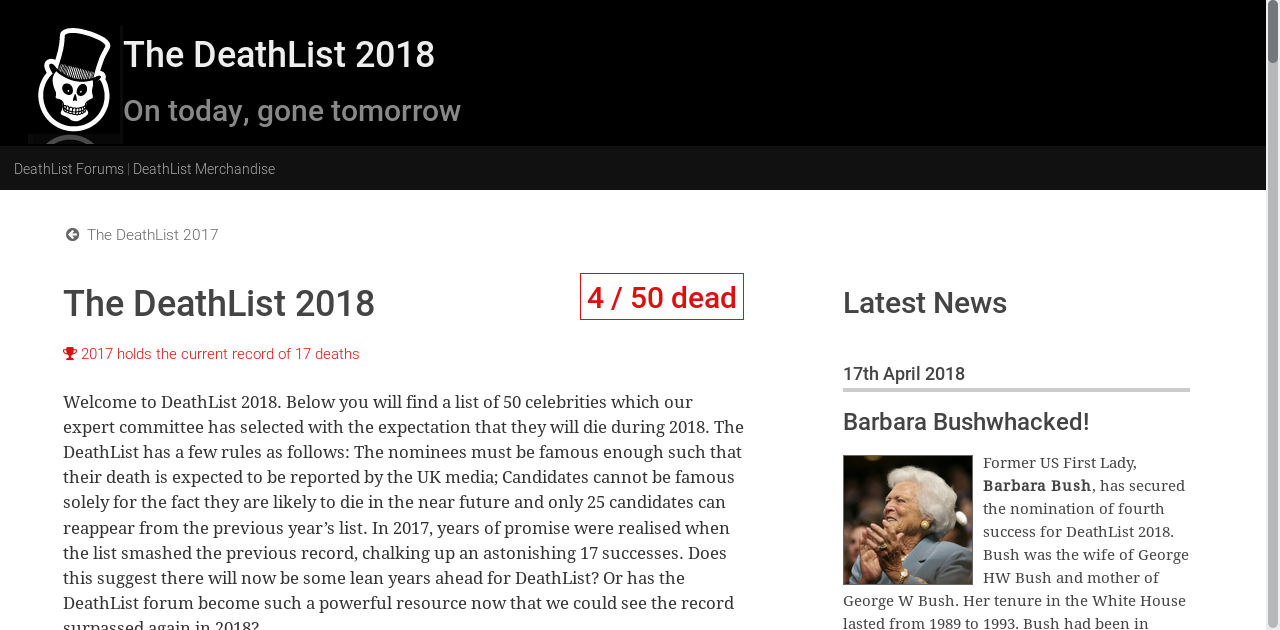 This Website Exactly Predicted the Death of Barbara Bush, Stephen Hawkings 11