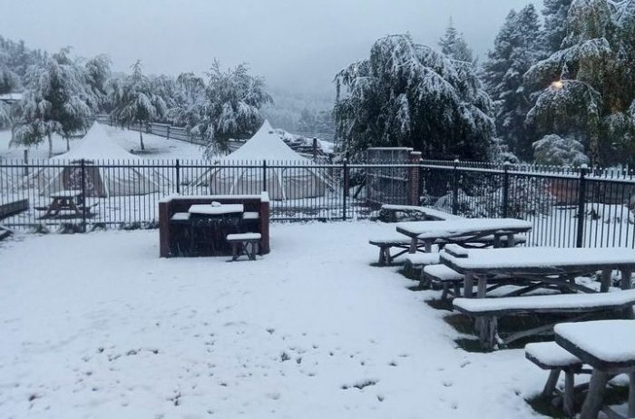 'Very Unusual' April Snowfall in South Island, New Zealand Surprises Locals 86
