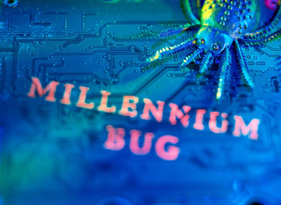 It was feared the 'Millennium Bug' would cause a global computer crash
