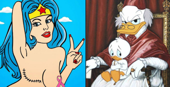 10+ Controversial Cartoon Images & The Life Lessons They Teach 33
