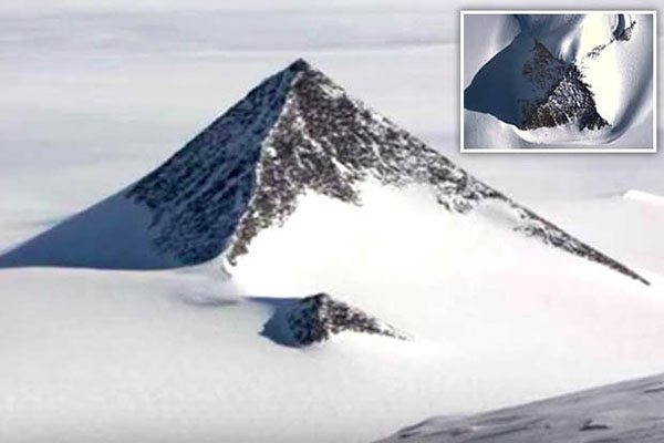 Third Snowy Pyramid Recently Discovered in Antarctica Could Rewrite History 90
