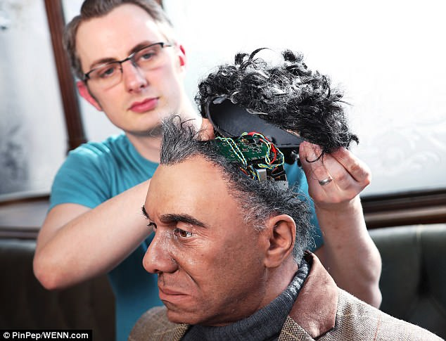 The hyper-realistic robot that is 'indistinguishable from humans' 98