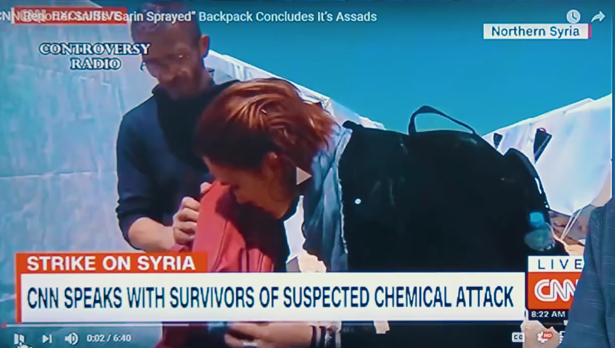 "CNN Reporter Takes a Huge Sniff of ""Poison"" on Air 93"
