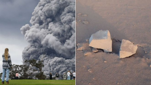 'Explosive Eruption' at Hawaii's Kilauea Volcano Sending Plume Of Ash 30,000 Feet Into Sky 18