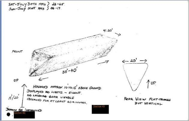 US Govt Recovered Materials from UFO's, Officials Admit: they are Stored Here 50