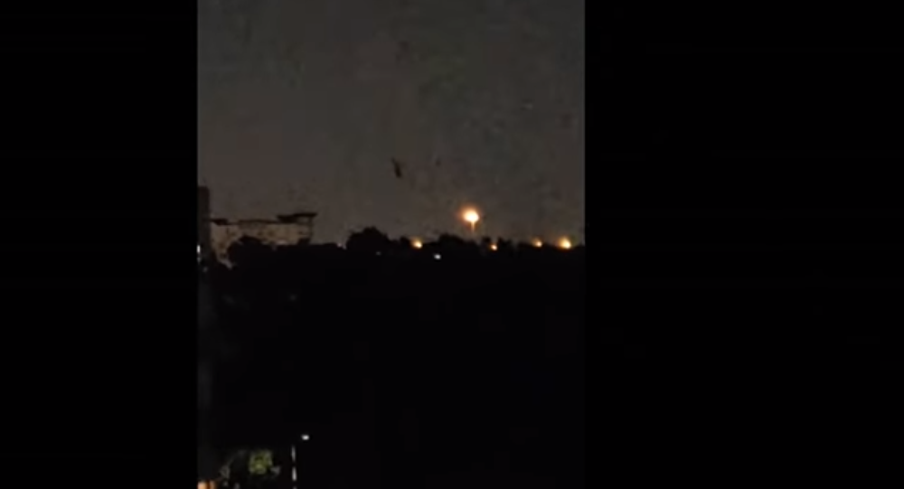 Video captures strange black craft floating across Texas sky over Houston 22