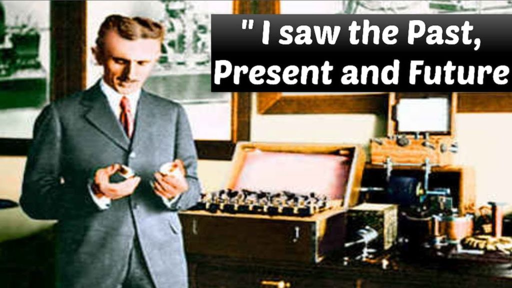 "Nikola Tesla Time Travel Experiment: ""I saw the Past, Present and Future at the same time"" 26"