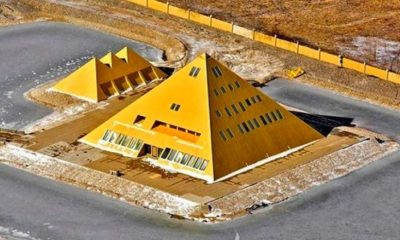 A Man Built A Gold Pyramid Home, A Replica Of The Great Pyramid & Found Mysterious Energy 97