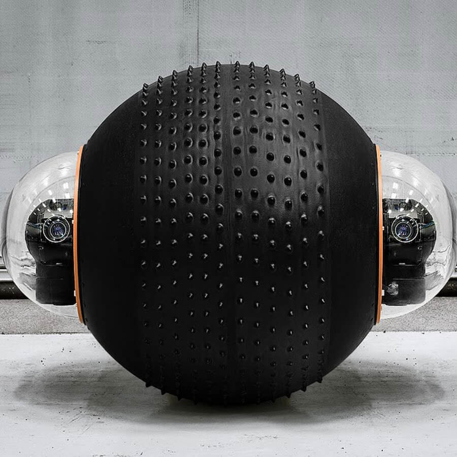 GuardBot- A Spherical Robot Comfortable Both On Land And Water 12