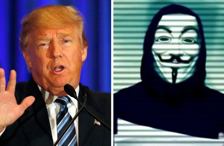 Anonymous Sends A Message To Donald Trump 1