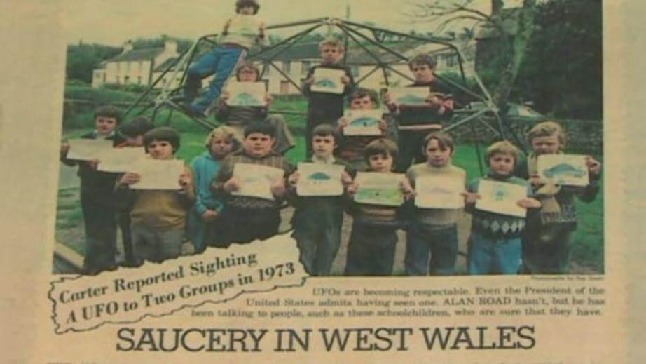 Broad Haven UFO sightings marked 40 years on 3