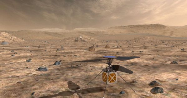 NASA Just Unveiled This Awesome, Tiny Helicopter That Will Cruise Over Mars 13