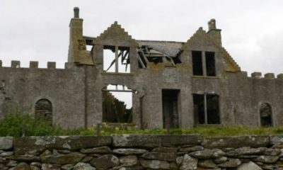 Fire erupts at Shetland's most haunted house 91