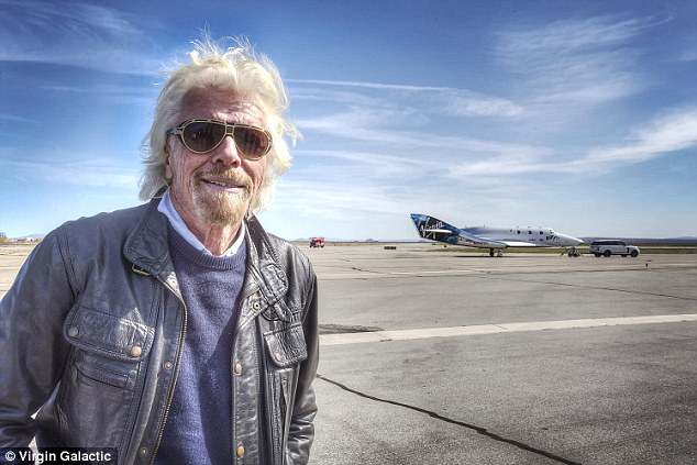 Virgin Galactic Boss Sir Richard Branson To Be Passenger On First Commercial Space Launch 5