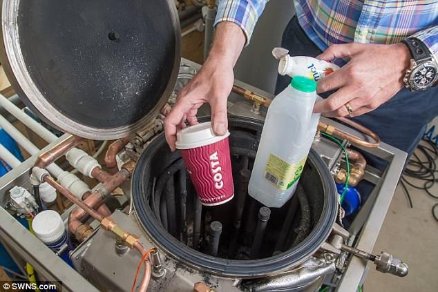 Kitchen gadget turns rubbish into ENERGY 94