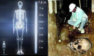 The Alaskan mound graveyard of gigantic human remains 86