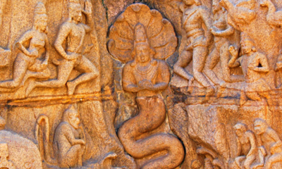 Indian Sculpture Shows Shapeshifting Reptilians & Ancient Astronauts 87
