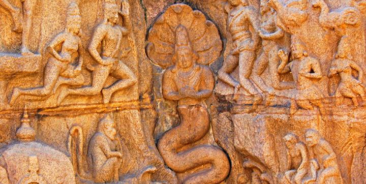 Indian Sculpture Shows Shapeshifting Reptilians & Ancient Astronauts 86