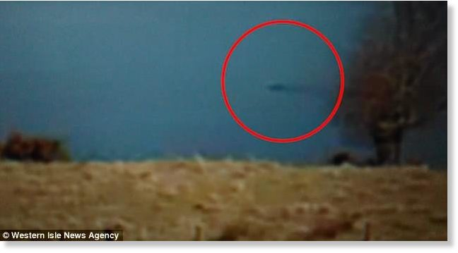 Is this the Loch Ness Monster? Tourist films 'creature' swimming towards Urquhart Bay 1