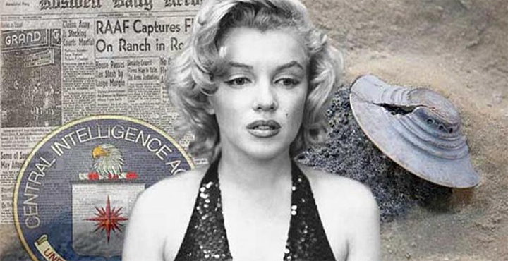 """Marilyn Monroe was """"Eliminated"""" because she knew ALIENS existed 90"""