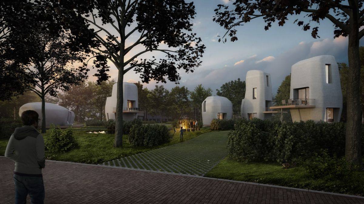A Dutch City Is 3D Printing The First Habitable Houses 89
