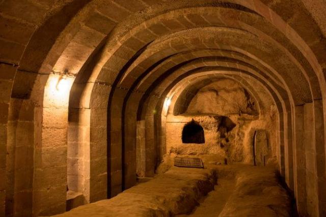 Incredible Byzantine underground city in Turkey that runs 18 storeys deep discovered by local who was renovating his home 105
