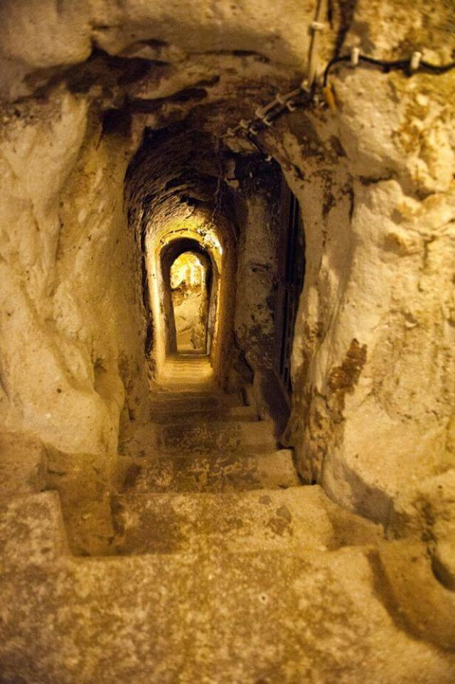 Incredible Byzantine underground city in Turkey that runs 18 storeys deep discovered by local who was renovating his home 24