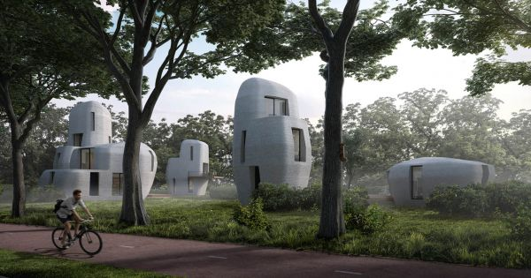 A Dutch City Is 3D Printing The First Habitable Houses 1