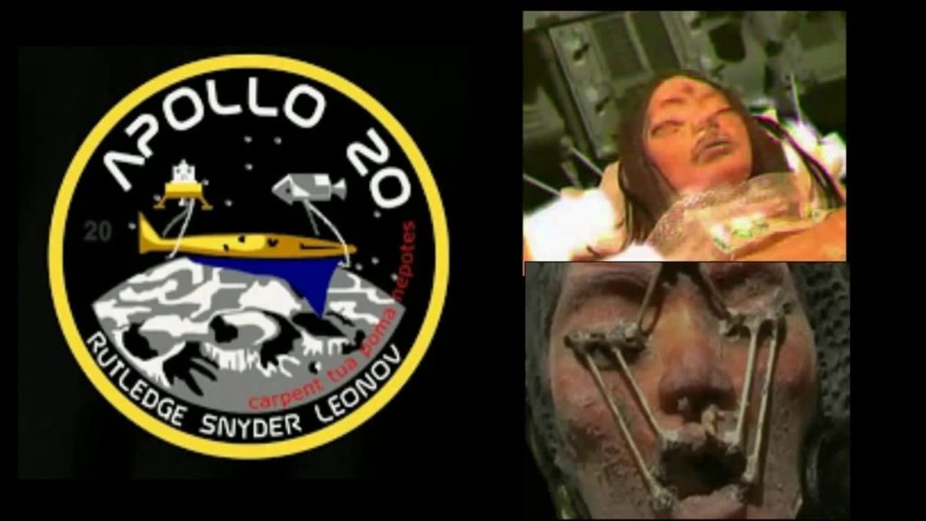 Secret Apollo 20 Mission Found Alien Girl On The Moon In 1976 12