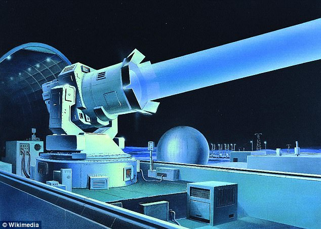 Russia is creating a laser cannon death ray to shoot down satellites in orbit 90