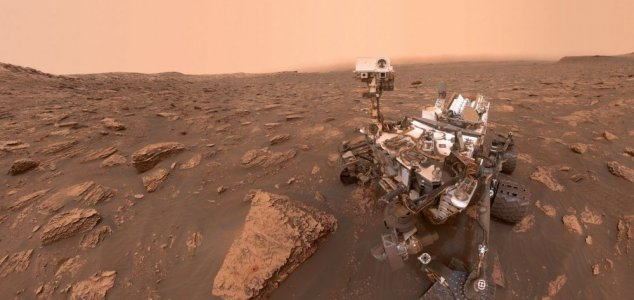 Mars dust storm has encircled the entire planet 25