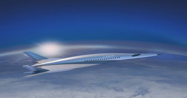Boeing's Hypersonic Concept Jet Could Cut Flight Times by 85 Percent 1