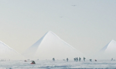 US Marines sent to explore the Three Ancient Pyramids discovered in Antarctica (videos) 93
