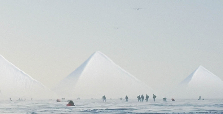 US Marines sent to explore the Three Ancient Pyramids discovered in Antarctica (videos) 13