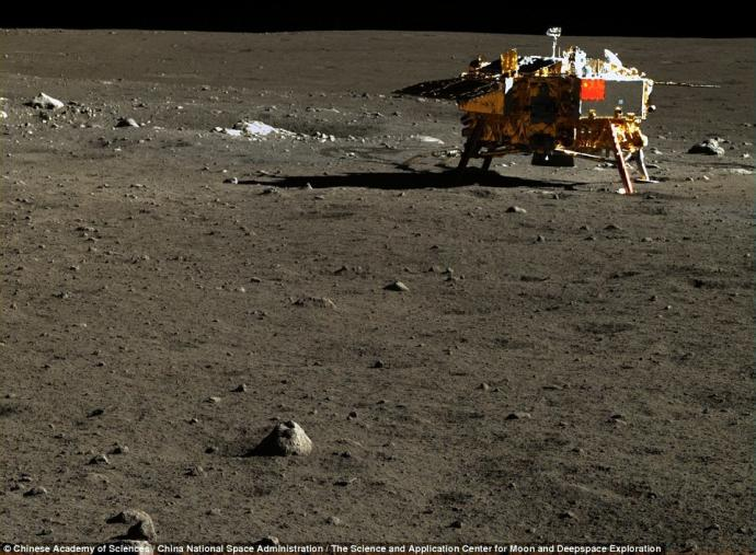 China Reaches The Moon Releasing Never-Before-Seen HD Photographs 16