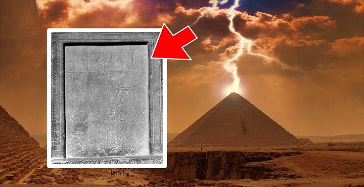 """Stela"" Explaining Sphinx & Pyramids Found In Giza 86"