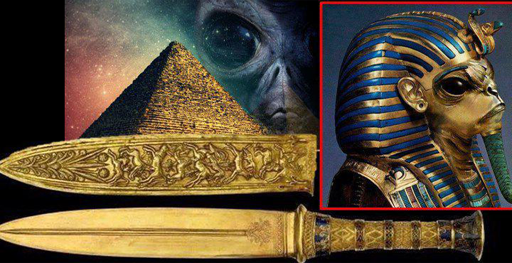 Tutankhamun's Daggers Originated From Outer Space 86