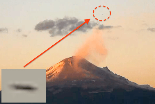 Do aliens use volcanoes as an energy source for their UFOs? 26
