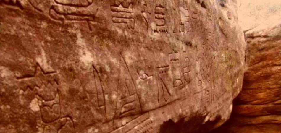 5,000-Year-Old Egyptian Hieroglyphs Found In Australia Prove History Is Wrong 86