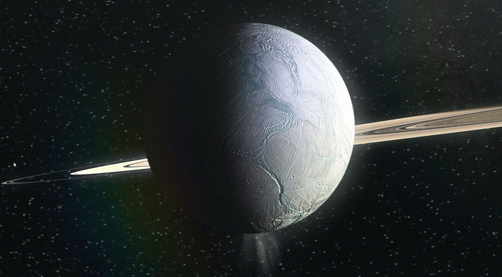 Life on Enceladus? complex organic molecules on Saturn's satellite? 21