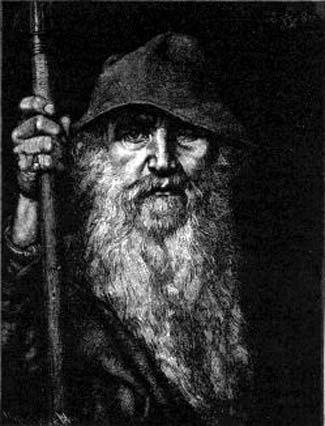 Odin' (1893) by Georg von Rosen
