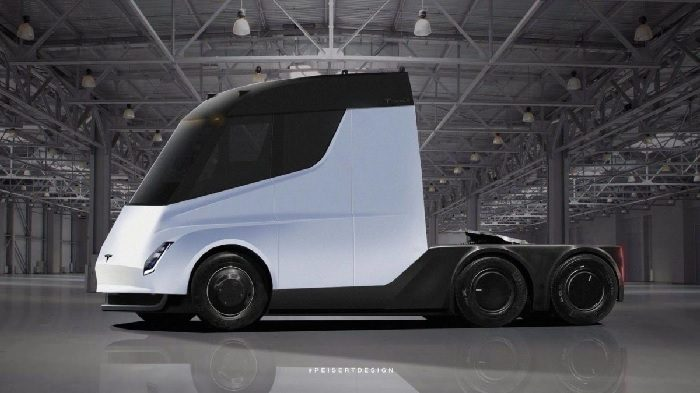 Video Shows Car-Like Acceleration of Tesla's Electric Truck 1