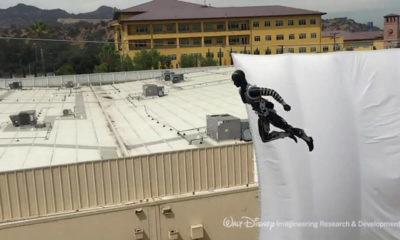 Amazing Anthropomorphic Disney Stunt Robots That Perform Autonomous Aerial Flips 60 Feet in the Air 95