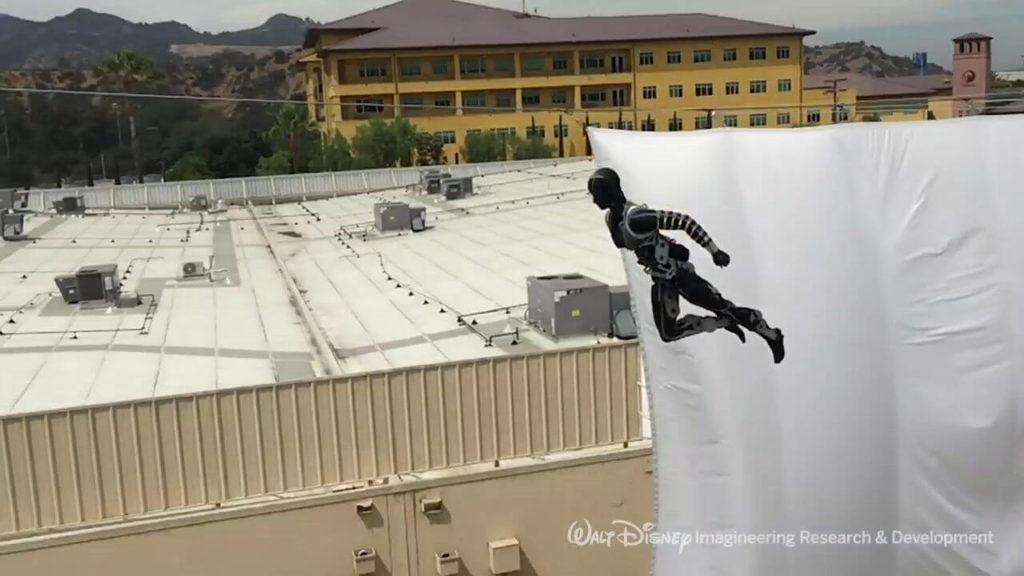 Amazing Anthropomorphic Disney Stunt Robots That Perform Autonomous Aerial Flips 60 Feet in the Air 34