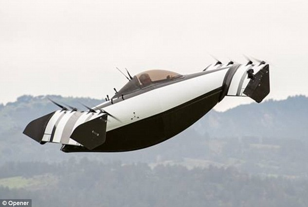 New BlackFly flying car prototype that anyone can pilot 5