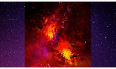 Cosmic Rays from Distant Binary Star System Eta Carinae, Bombarding Earth 95