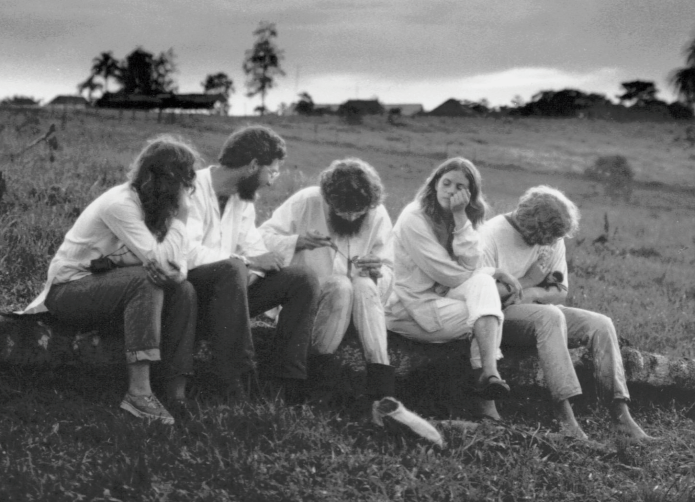 The members of the 'experiment' at La Chorrera (1974)